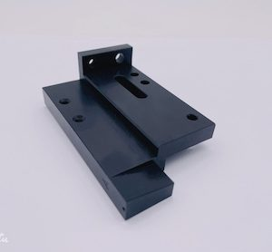 Aluminum Blower with black anodizing