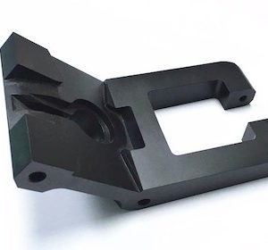 Black aluminum oxide milling parts