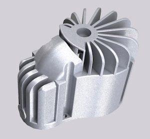 Complex Shape Die Casting Parts Aluminum Part