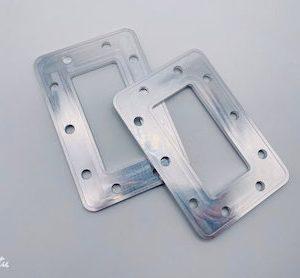 Gasket plate Aluminum 6082