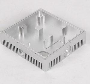 Heat sink aluminum machining part