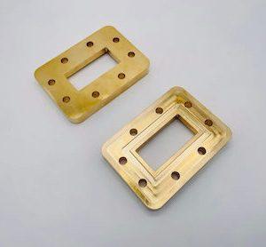 Rectangular Brass Flange
