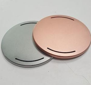 cnc machining aluminum parts with color anodizing
