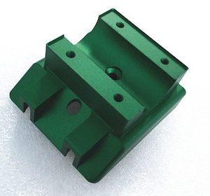 color anodizing aluminum milling part