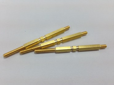 connector brass pin
