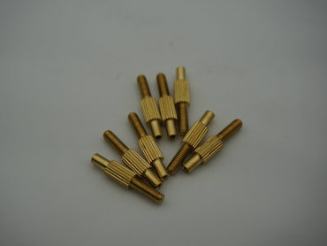 precision electrical connector brass screw pin