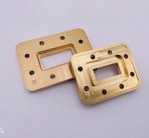 tube transition brass flange