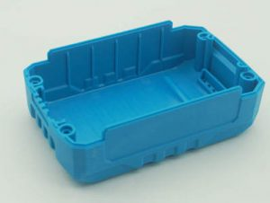 Plastic injection part