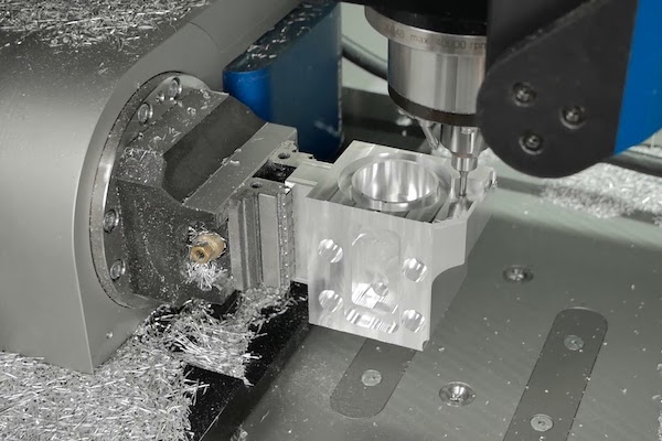 Rapid prototyping CNC machining