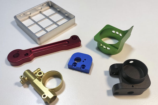 Surface treatment solutions for aluminum parts