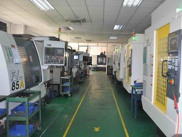cnc machining center workshop
